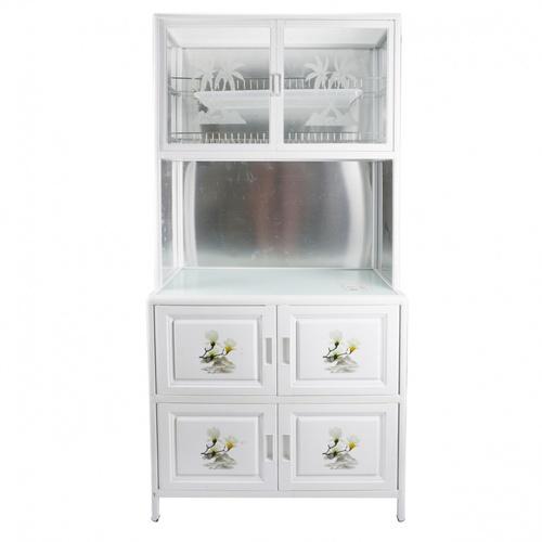 CROWN CROWN ตู้อเนกประสงค์ในครัว 80x42x140 ซม. PQS-LGZ6 PQS-LGZ6