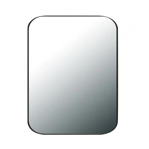 NICE กระจกมีกรอบทรงเหลี่ยม (ST) ขนาด 60x80cm คอตต้า PQS-XS8060-B1 สีดำ