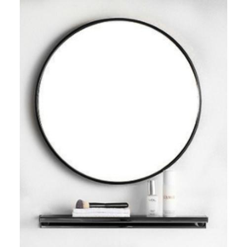 NICE  ชุดกระจกอะลูมิเนียม ขนาด 60X60 ซม.  แองเจล่า GBH-LZ72101-BK   สีดำ