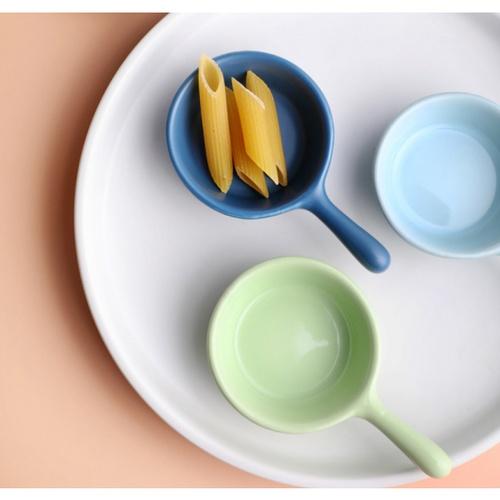 ADAMAS จานรองอาหาร คละสี ขนาด 3.8 นิ้ว skön สีขาว