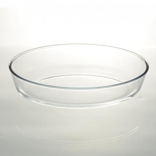 AILO ถาดแก้วทรงรี ขนาด 2.4L. BRIGHT-10