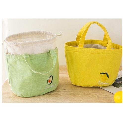 USUPSO กระเป๋าเก็บรักษาอุณหภูมิแบบมีเชือกดึง (#BF5) สีขาว