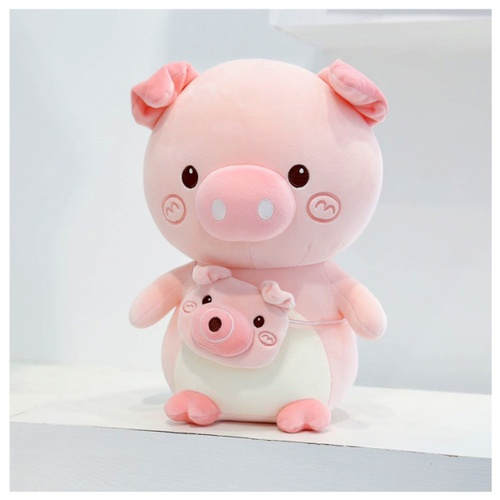 USUPSO ตุ๊กตาหมูน้อย  Bubble Pig  ขนาด23 ซม.