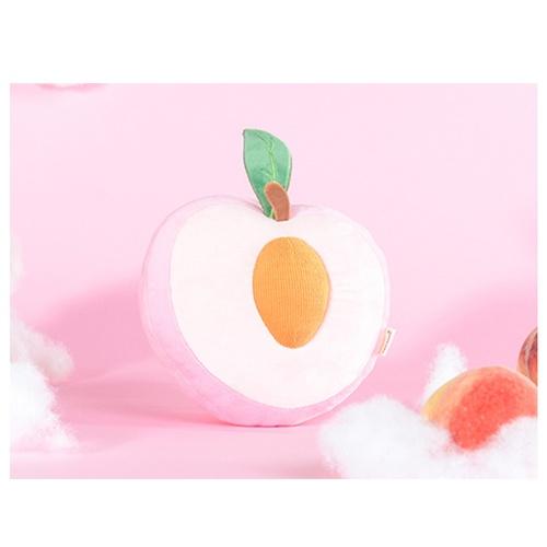 USUPSO หมอนตุ๊กตาลูกพีช  ขนาด 30*32ซม. สีชมพู