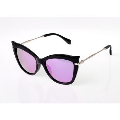USUPSO แว่นตากันแดด  cat eyes Colorful สีม่วง