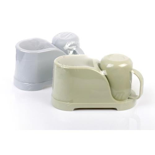 USUPSO  ชุดที่เก็บอุปกรณ์ใช้ในห้องน้ำ Nordic style +แก้ว  -