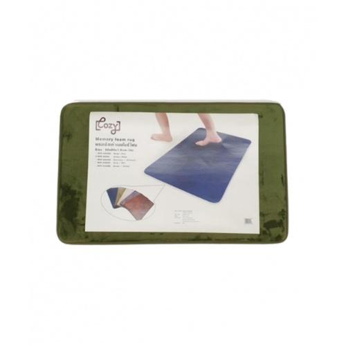 COZY พรมเช็ดเท้าเมมโมรี่โฟม 50x80 เซนติเมตร MFR-5080G สีเขียว