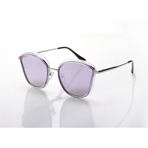 USUPSO  แว่นตาแฟชั่น  Retro purple