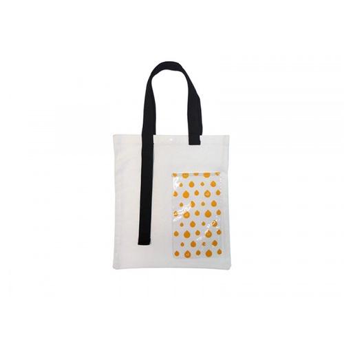 USUPSO กระเป๋าผ้าแฟชั่น (#F9) สีขาว