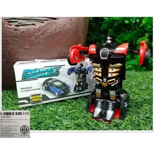 Sanook&Toys ชุด Deformation of the car  296695 สีแดง