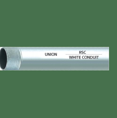 Union ท่อ RSC  2.1/2 สี Silver