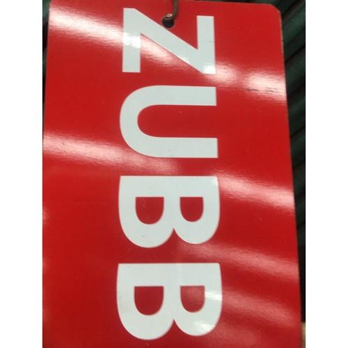 ZUBB เหล็กฉาก 3 นิ้ว หนา 6มม. สีแดง