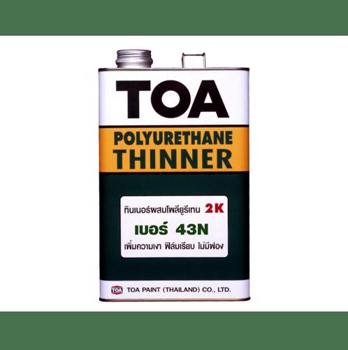 TOA HDC ทินเนอร์ โพลียูรีเทน ท็อปการ์ด 2 ส่วน 1 กล #0043 -