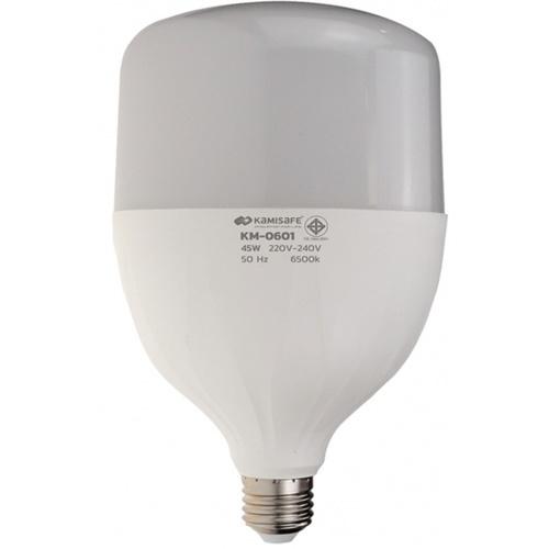 Kamisafe หลอดไฟ LED BULB LIGHT 45W KM-0601 สีขาว