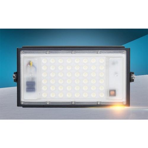EILON สปอร์ตไลท์ LED 50W 6500K ปรับเอียงได้ 180 องศา ETGD-50W-MS65  แสงเดย์ไลท์ สีดำ