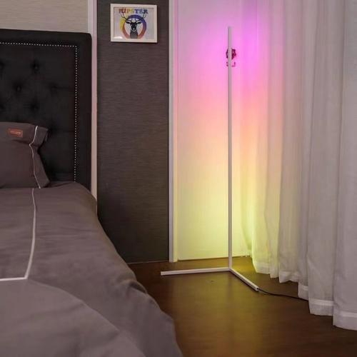 EILON โคมไฟตั้งพื้นโมเดิร์น RGB 20w พร้อมรีโมท สูง 1.45m  ALD-02