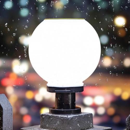 EILON โคมไฟหัวเสาโซล่าร์เซลล์ 20W ปรับได้ 2 แสง ขนาด 300*400mm   JD-X70-30DW 3000K+6500K