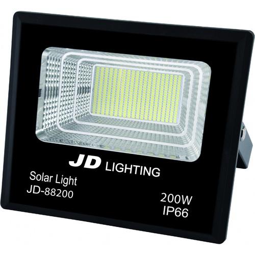 EILON ไฟสปอร์ตไลท์โซลาร์เซลล์ 200W   JD88200 สีดำ