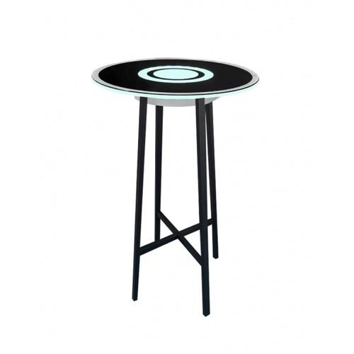 EILON โต๊ะลำโพงอัจฉริยะ LED RGB 8W ความสูง 115cm   JD-512BW  สีดำ