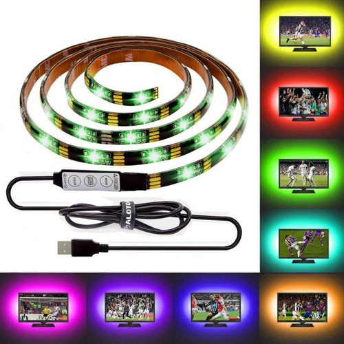 EILON ไฟเส้น Strips  light  Led ยาว 3 เมตร 5050USB RGB สีขาว