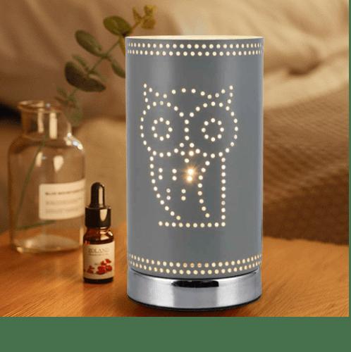 ELON โคมไฟตั้งโต๊ะ Fancy  MT53068-1  สีเทา