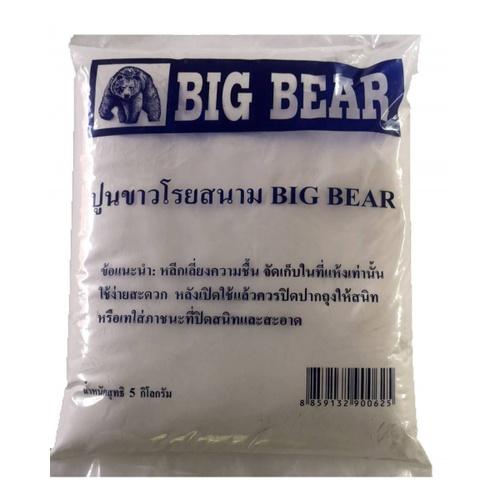 BIG BEAR ปูนขาวโรยสนาม ขนาด 5กก.BIG BEAR ขนาด 5 กก.