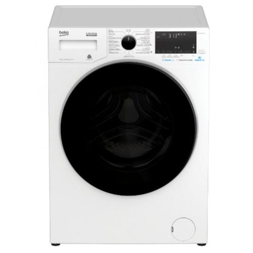 BEKO เครื่องซักผ้าฝาหน้า WCV9649XWST สีขาว