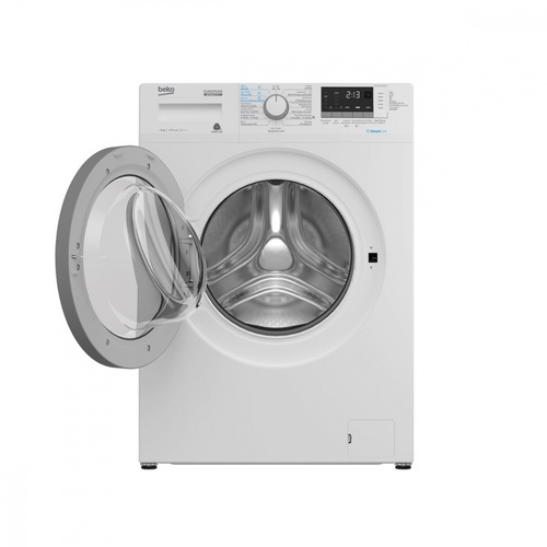 BEKO เครื่องซักผ้าฝาหน้า 8 กก. WCV8612X0ST สีขาว