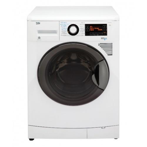 BEKO  เครื่องซักผ้า/อบผ้าฝาหน้า 10.5/6 กก.   WDA1056143H  สีขาว