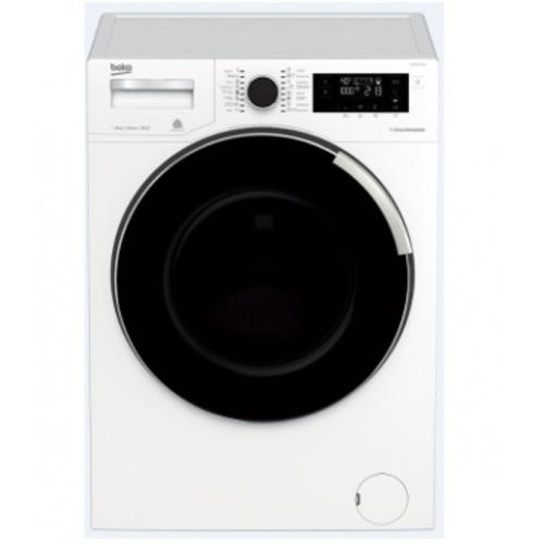 BEKO เครื่องซักผ้าฝาหน้า WTV9745X0A สีขาว