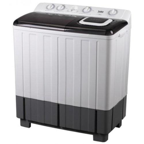 BEKO เครื่องซักผ้า 2 ถัง 18 กก.  WTT180W สีขาว-ดำ
