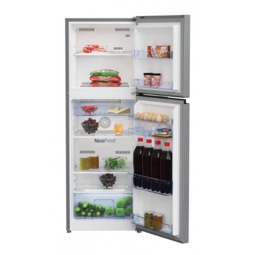 BEKO ตู้เย็น 2 ประตู 8.1 คิว  สีเงิน RDNT252I50S