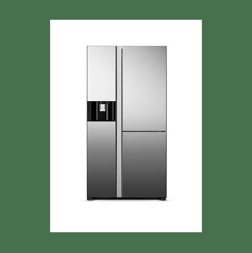 HITACHI ตู้เย็น  side by side 20.1 คิว RM600VAG9THX MIR