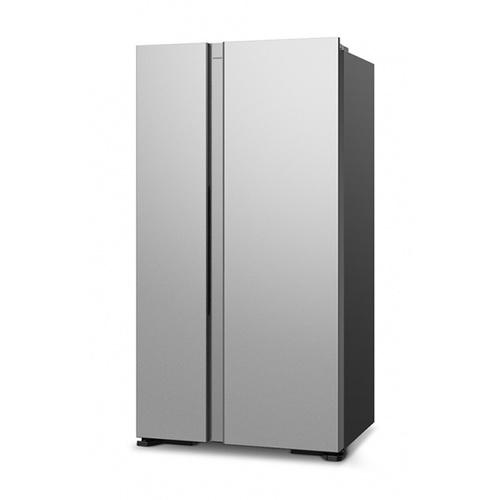 HITACHI ตู้เย็น Side by side  ขนาด 21 คิว  RS600PTH0 GS สีเทาอ่อน