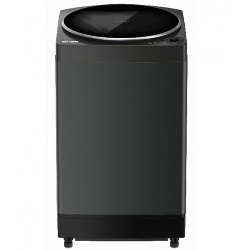 SHARP  เครื่องซักผ้าฝาบน 10 กก.  ES-W10HT-GY  สีดำ