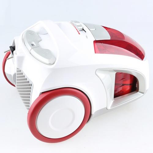 SHARP เครื่องดูดฝุ่น พร้อมกล่องเก็บฝุ่น 1600 วัตต์ EC-NS16-R สีแดง