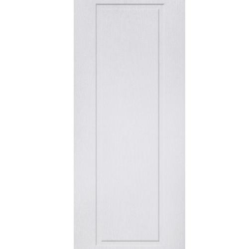 BWOOD ประตูยูพีวีซี Eco Series ขนาด  90x200cm. (ไม่เจาะ)  BENR007 REVO  สีขาว