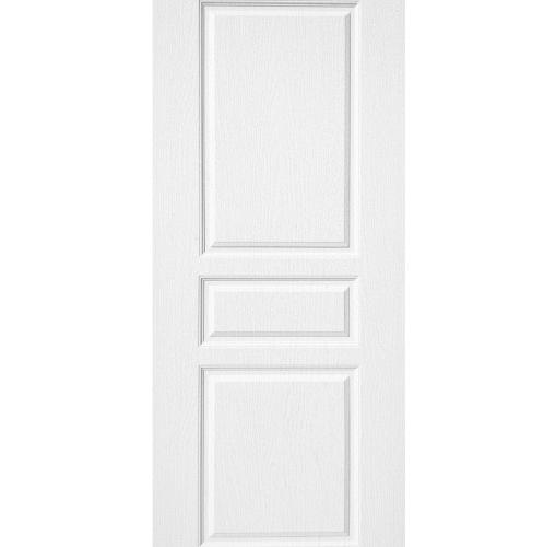 BWOOD ประตูยูพีวีซี  ขนาด 90x200ซม.  (เจาะ) BENR002  Eco series REVO  สีขาว