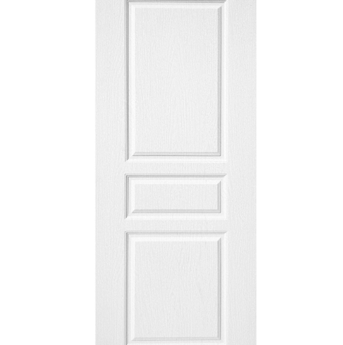 BWOOD ประตูยูพีวีซี ขนาด 90x200ซม. (ไม่เจาะ) BENR002 Eco series REVO