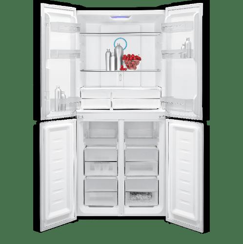 Haier  ตู้เย็น 4 ประตู 12Q   HRF-MD350 GB  สีดำ