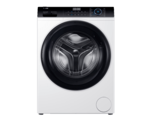 HAIER เครื่องซักผ้าฝาหน้า ขนาด 8kg HW80-BP12929 สีขาว