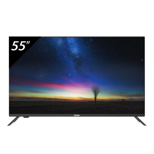 Haier โทรทัศน์ Smart Android TV 4K  55  LE55K8000UA สีดำ
