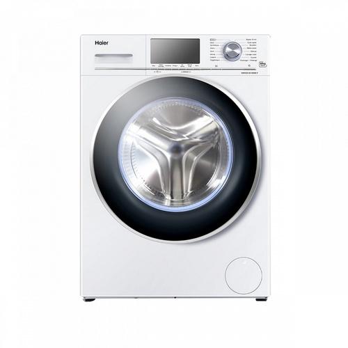 Haier  เครื่องซักผ้าฝาหน้า10 กก.  HW100-BP14826  สีขาว