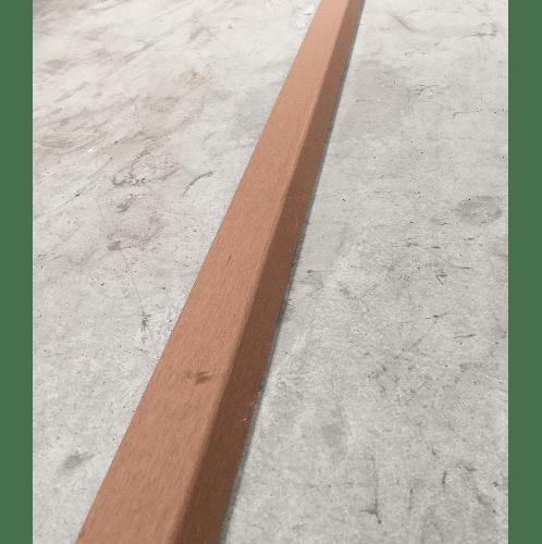 เดวิดสโนว์ (DAVID SNOW) ครอบฉากไม้พื้นเทียม DECKING  ครอบฉากLสีกุหลาบ  KHDF012-2-M29