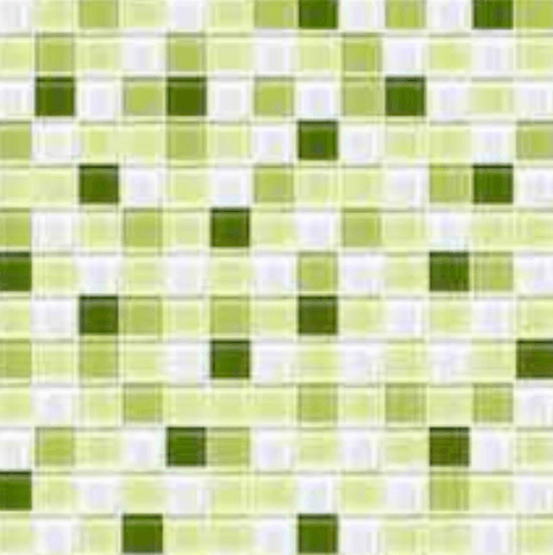 Cotto โมเสค 12x12  กลาส เบลนด์ 03  A. สีเขียว