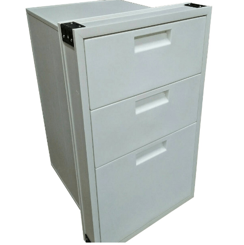 CLOSE ตู้ลิ้นชัก 3 ชั้น Blanco 14 สีขาว CLOSE Blanco 14 สีขาว