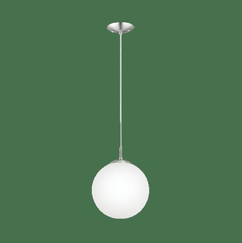 EGLO  โคมไฟแขวน  1x60W E26-A19 RONDO สีขาว