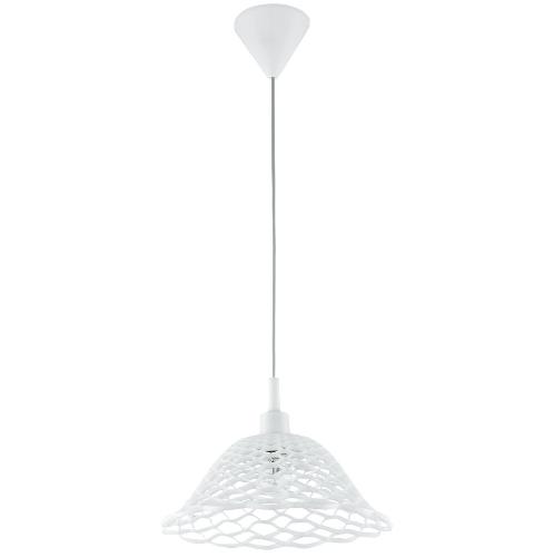 EGLO โคมไฟแขวน E27 /1x 60W / Size 145x175x1100 MARZIO สีขาว