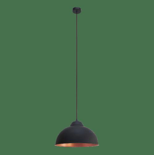 EGLO โคมไฟแขวน E27 / 1x 60W / ขนาด 380x255x1100 TRURO 2 สีดำ