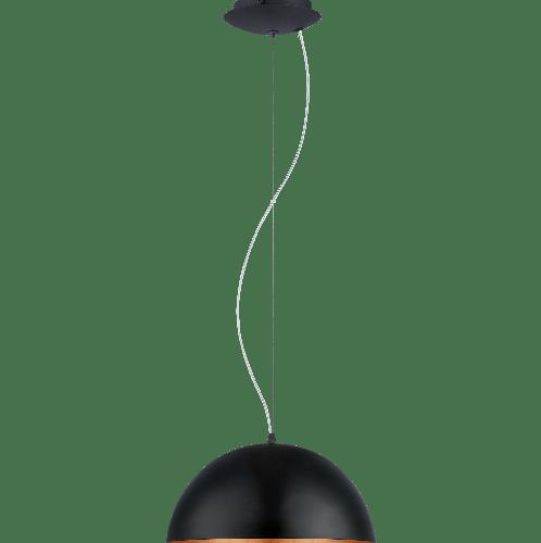 EGLO โคมไฟแขวน E27 / 1x 60W / ขนาด 400x395x1500 GAETANO 1 สีดำ